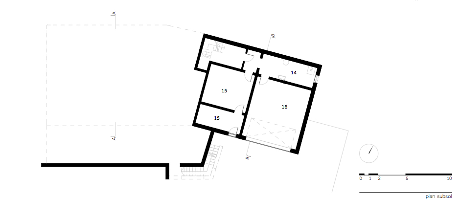 Casa DO - W.01 Plan subsol