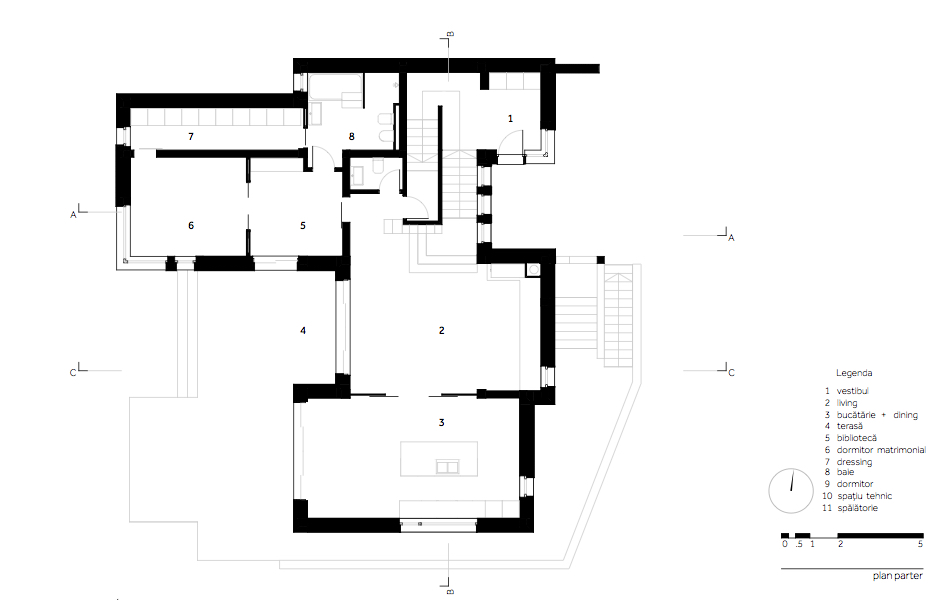 MHS Casa MR - 03.plan parter_ro