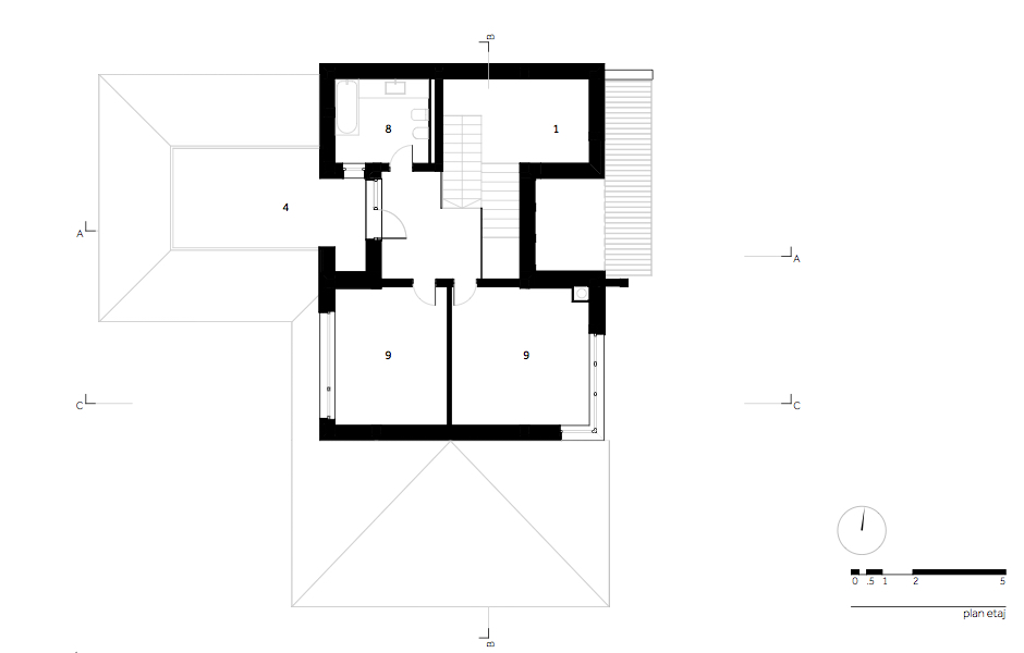 MHS Casa MR - 04.plan etaj_ro