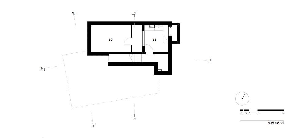 Casa LR - W.02 Plan subsol