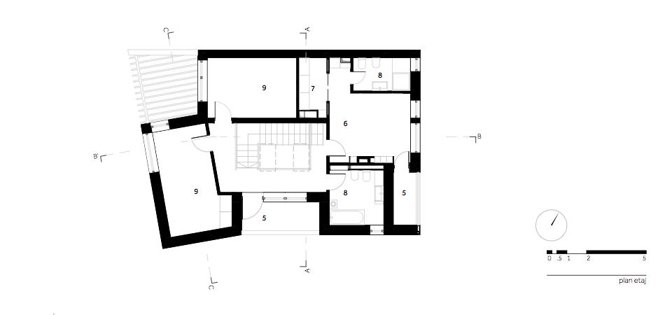 Casa LR - W.04 Plan etaj
