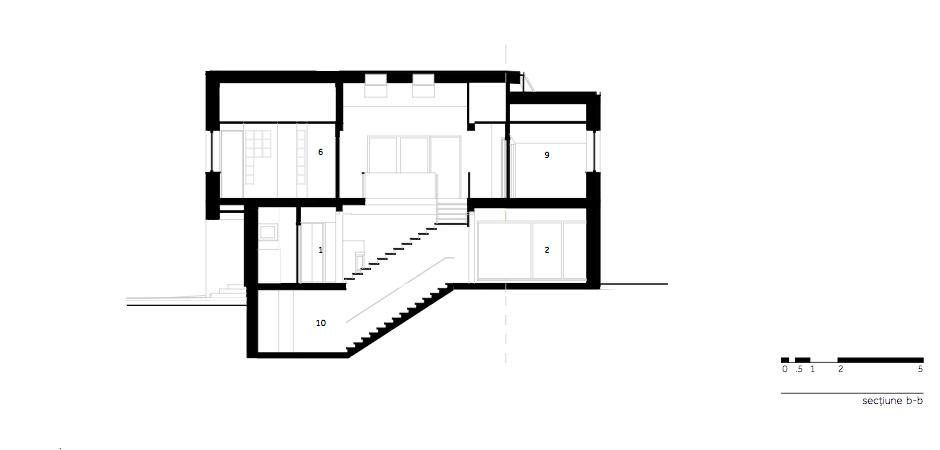 Casa LR - W.06 Sectiune b-b