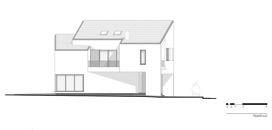 Casa LR - W.08 Fatada sud