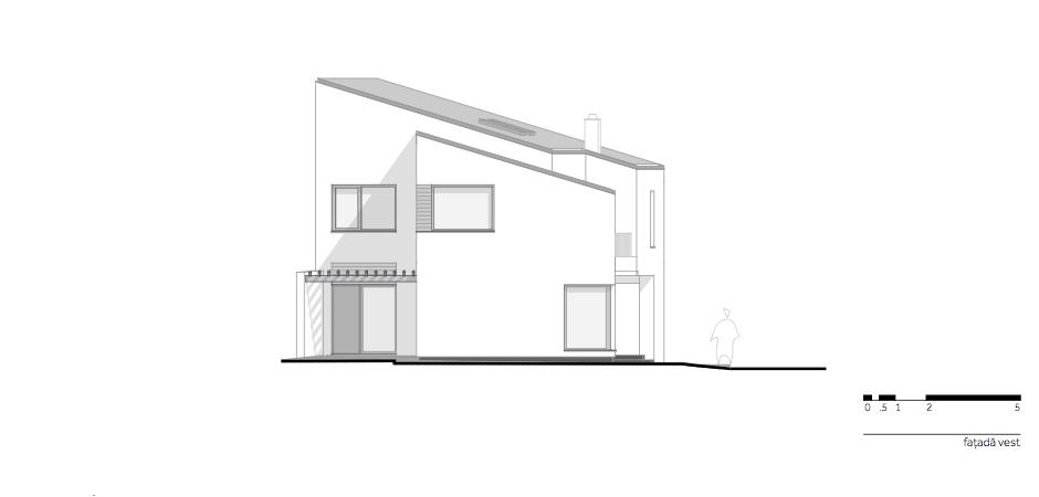 Casa LR - W.09 Fatada vest