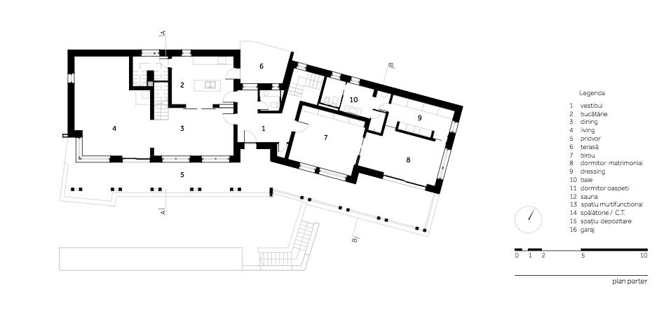 Casa DO - W.02 Plan parter