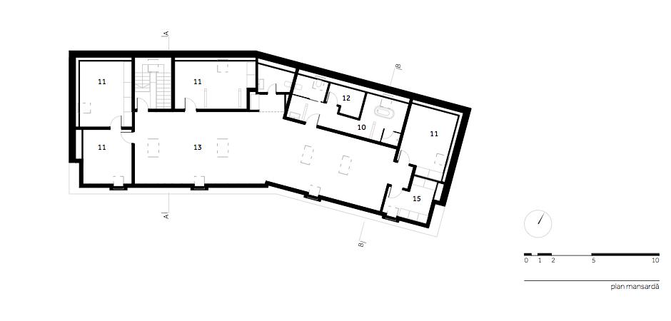 Casa DO - W.03 Plan mansarda