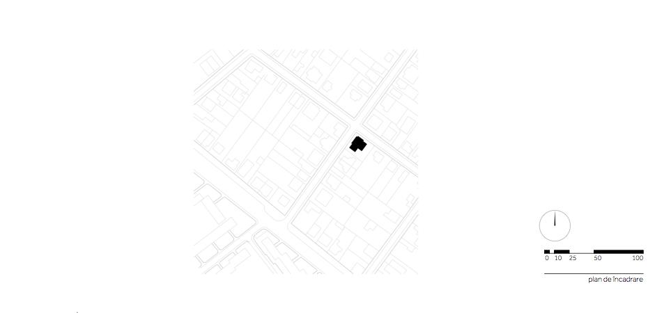 Casa AF - W.01 Plan de incadrare