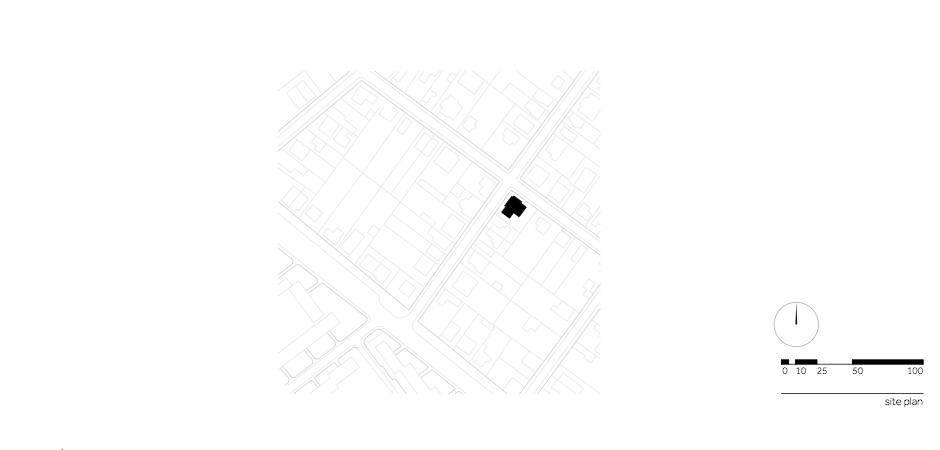Casa AF - W.01 Site plan_en