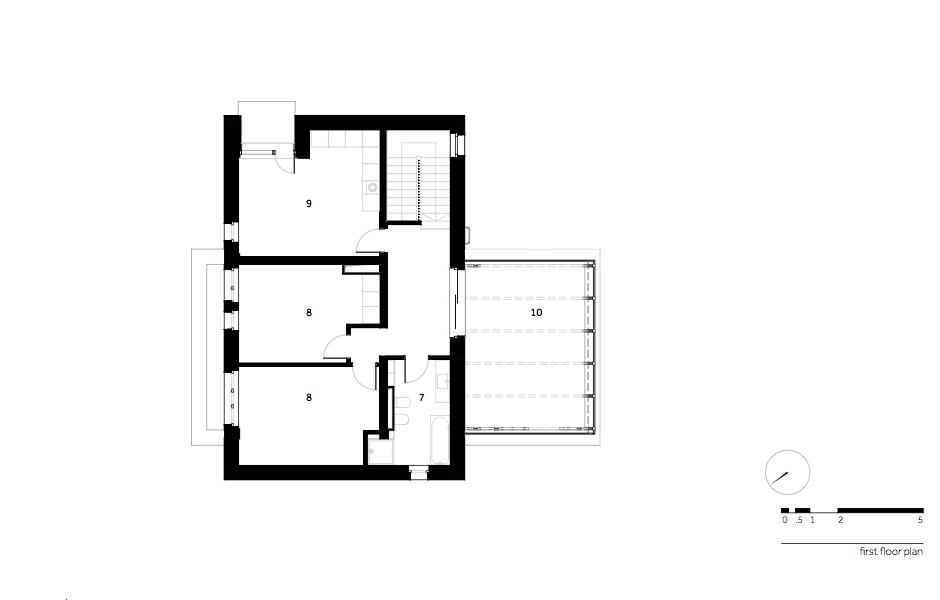 Casa AF - W.04 First floor plan_en