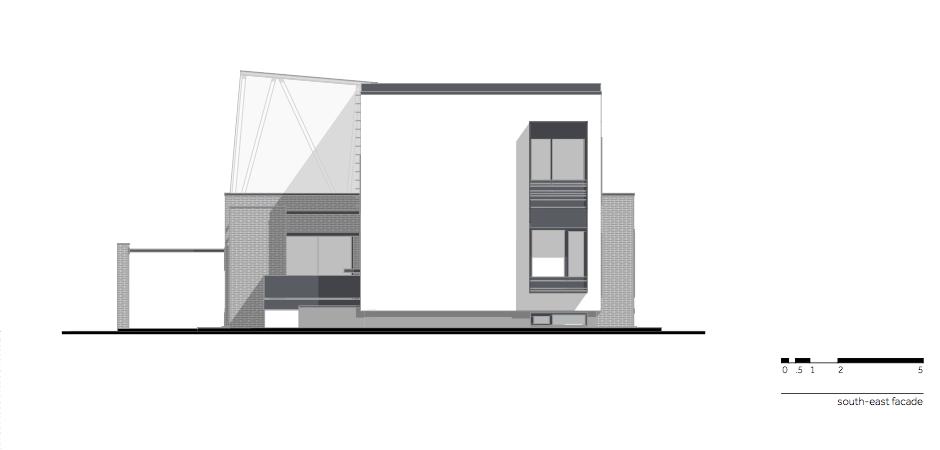 Casa AF - W.10 South-east facade_en