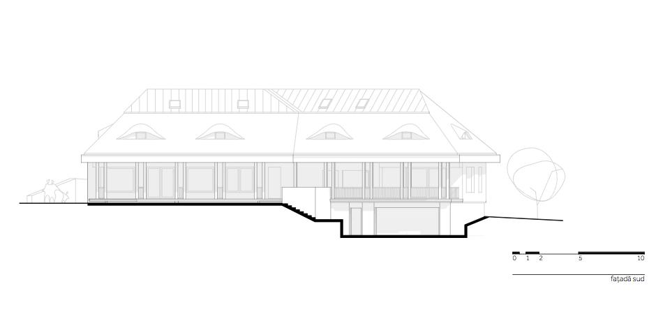 Casa DO - W.06 Fatada sud