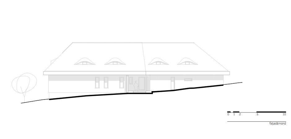 Casa DO - W.07 Fatada nord