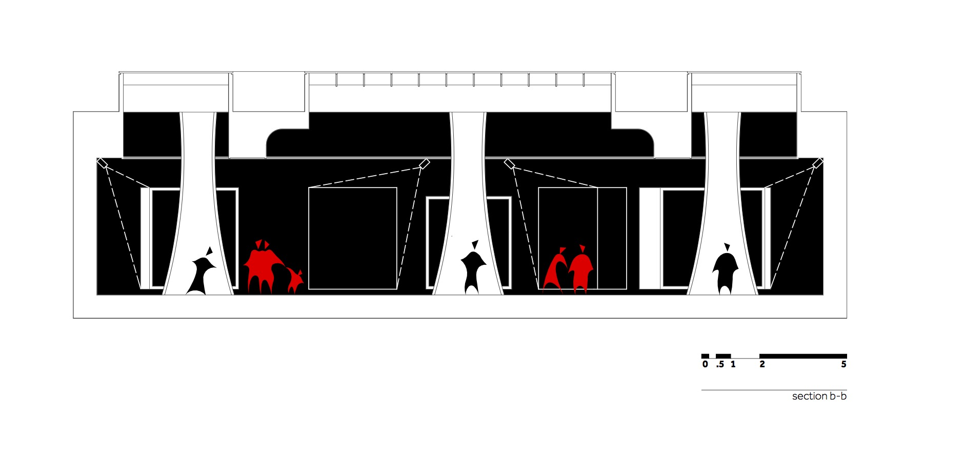 MHS - Bienala de la Venetia - W.04 Sectiune b-b_en