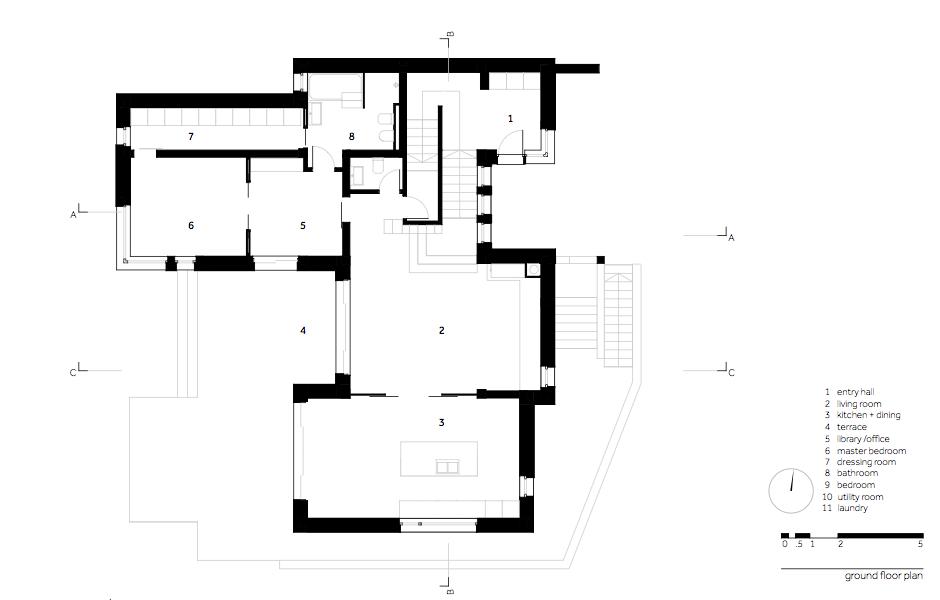 MHS Casa MR - 03.plan parter_ro